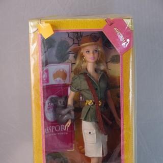 バービー(Barbie)のドールオブザワールドバービー オーストラリア新品未開封(ぬいぐるみ/人形)