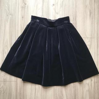 ジェーンマープル(JaneMarple)のベルベットスカート ジェーンマープル(ひざ丈スカート)