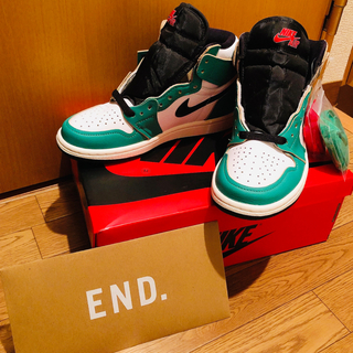 NIKE - Air Jordan 1 Retro High OG Lucky Green