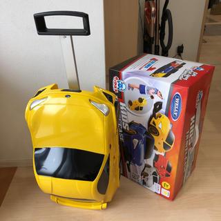スバル(スバル)のスバル BRZ 子供用スーツケース イエロー 新品未使用(ミニカー)