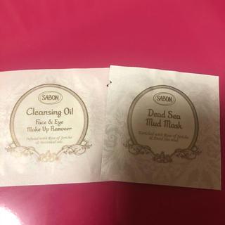 サボン(SABON)のサボン SABON デッドシーマスク クレンジングオイル サンプル 試供品 付録(サンプル/トライアルキット)
