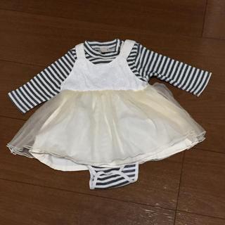 プティマイン(petit main)の70 プティマイン スカート ロンパース セット(スカート)