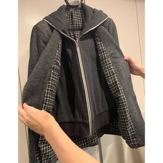 ドルチェアンドガッバーナ(DOLCE&GABBANA)のドルチェ&ガッバーナ パーカー付きジャケット(テーラードジャケット)