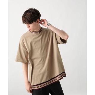 ハレ(HARE)のスソラインリブカットソー(HARE)(Tシャツ/カットソー(半袖/袖なし))