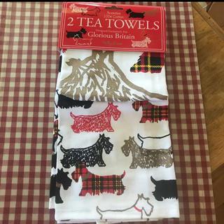 ローラアシュレイ(LAURA ASHLEY)のイギリス ロンドン 2枚セットTea towels 100%コットン (収納/キッチン雑貨)