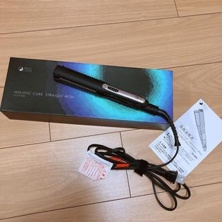 【美品】ホリスティックキュア ストレートアイロン CCIS-G03B 海外兼用(ヘアアイロン)