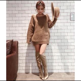 エイミーイストワール(eimy istoire)のエイミーイストワール♡新品フェイクレザーシンプルロングブーツ(ブーツ)