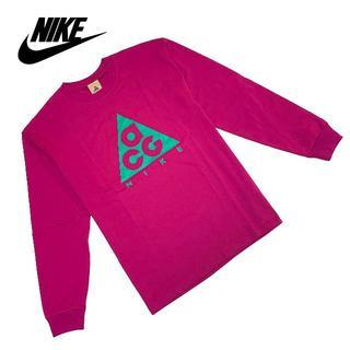 ナイキ(NIKE)の新品 Sサイズ ナイキ ACG ロングTシャツ  長袖 トップス ロングスリーブ(Tシャツ/カットソー(七分/長袖))