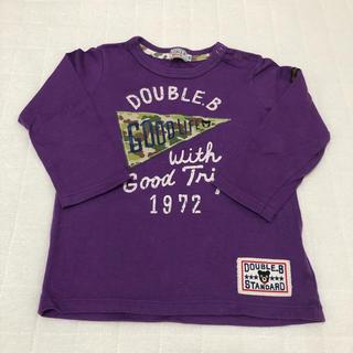DOUBLE.B - DOUBLE.B☆ロングTシャツ(90cm)