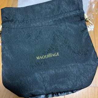 マキアージュ(MAQuillAGE)のマキアージュ ノベルティ 巾着 ぽーち(ポーチ)