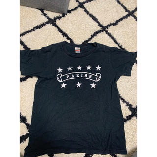 PARISロゴTシャツS メンズ(Tシャツ/カットソー(半袖/袖なし))