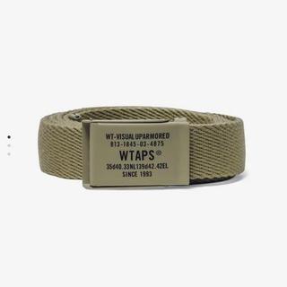 W)taps - 【新品】wtaps ダブルタップス ベージュ ベルト 20AW