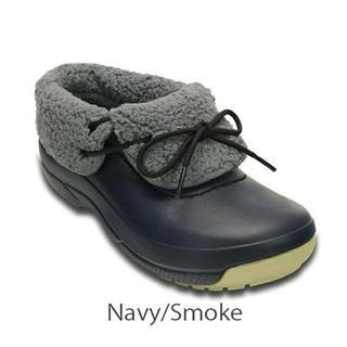 クロックス(crocs)のクロックス w9 ネイビー25(ブーツ)