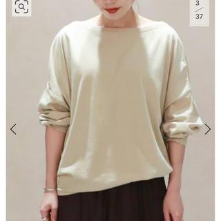 Plage - Plage 【R'IAM】 フェミニン ロングTシャツ