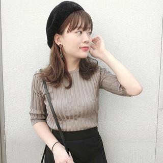 fifth - 新品 フィフス◇ フィットニット5分袖クルーネック