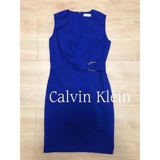 カルバンクライン(Calvin Klein)のCalvin Klein カルバンクライン ワンピース フォーマル ドレス at(ひざ丈ワンピース)