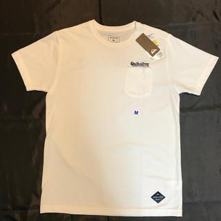 クイックシルバー(QUIKSILVER)のQUIKSILVER  tシャツ サイズM(Tシャツ/カットソー(半袖/袖なし))