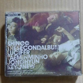 シャイニー(SHINee)のSHINee「THE SECOND ALBUM LUCIFER」CD+DVD(K-POP/アジア)
