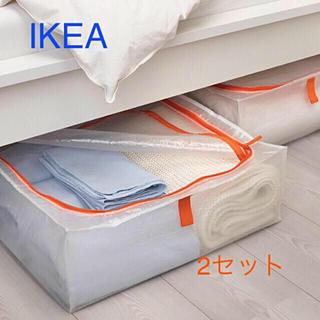 イケア(IKEA)のイケア IKEA 収納ケース×2セット ペルクラ【新品 未開封】(ケース/ボックス)