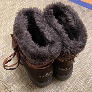 お値下げ!ブーツ グレースガーデン 24.5〜25cm