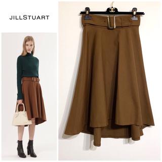 JILLSTUART - ジルスチュアート ベルト付きフレアスカート