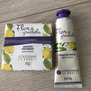 L'OCCITANE - 【新品】ロクシタンのハンドクリームとソープ