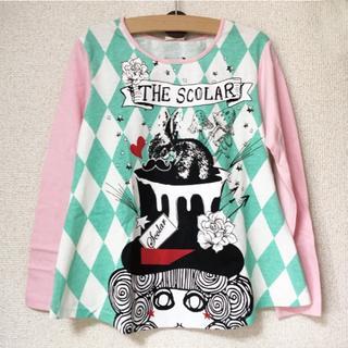 スカラー(ScoLar)の新品!ScoLar130cm《プリント長袖Tシャツ》(Tシャツ/カットソー)