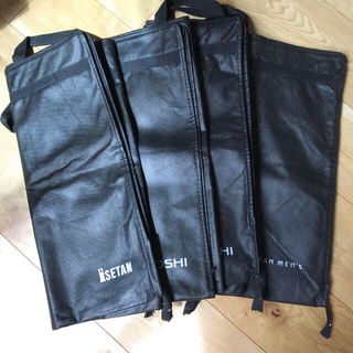 イセタン(伊勢丹)のISETAN MEN'S、ISETAN、三越のスーツカバー 4枚(その他)