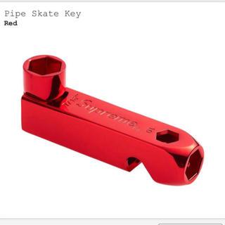 シュプリーム(Supreme)のsupreme pipe skate key red 赤(スケートボード)