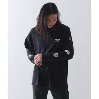 ハレ(HARE)の【HERESY/ヘレシー】プリントロングT-シャツ(Tシャツ/カットソー(七分/長袖))
