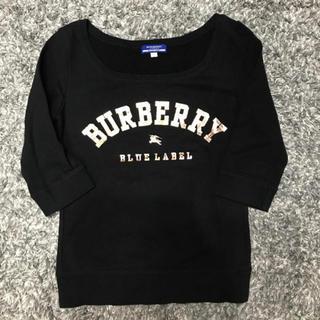 バーバリーブルーレーベル(BURBERRY BLUE LABEL)の【美品】BURBERRY BLUE LABEL(トレーナー/スウェット)