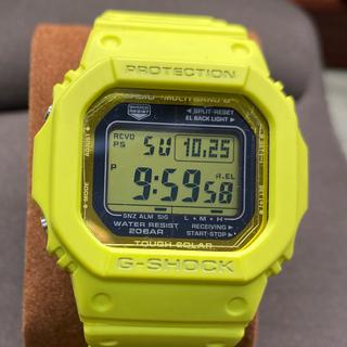 ジーショック(G-SHOCK)の美品 G-SHOCK GW-M5610MD イエロー マルチバンド6電波ソーラー(腕時計(デジタル))