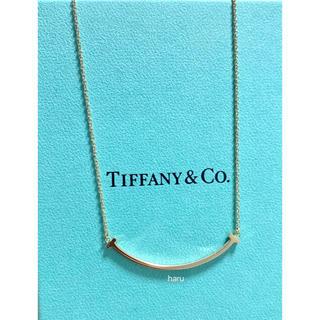 Tiffany & Co. - TIFFANY&Co. ティファニーTスマイルネックレスK18スモール