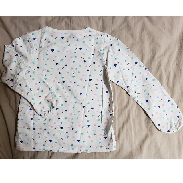GU(ジーユー)のGU カットソー 120 キッズ/ベビー/マタニティのキッズ服女の子用(90cm~)(Tシャツ/カットソー)の商品写真