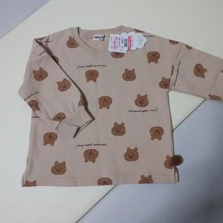 シマムラ(しまむら)のミモランド 100 くま トレーナー (Tシャツ/カットソー)