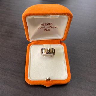 エルメス(Hermes)のエルメス レア‼︎  SV925/K18コンビリング(リング(指輪))