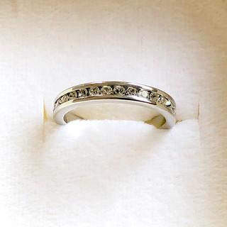 4℃ - 【目を引く輝き】フルエタニティー シルバー リング 2ct 指輪 12号