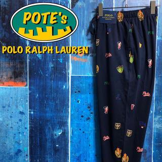 POLO RALPH LAUREN - 【新品未使用 ポロラルフローレン】ロゴ総柄イージージョガーパジャマパンツ