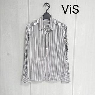 ViS - ViS ヴィス ストライプシャツ