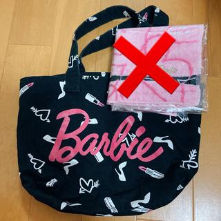 バービー(Barbie)のBarbie ミニトートバッグと新品ハンカチ(トートバッグ)