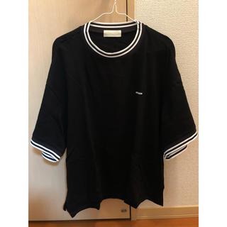 ジエダ(Jieda)のneon sign 19ss カットソー 黒 44(Tシャツ/カットソー(半袖/袖なし))