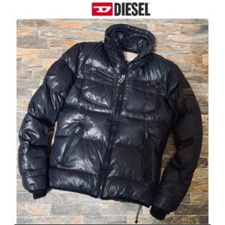 ディーゼル(DIESEL)のDIESEL ディーゼル/ダウンジャケット ブラック Sサイズ(ダウンジャケット)