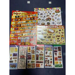 Disney - シール 色々97枚 プーちゃん、和柄、ウサギシール+9枚