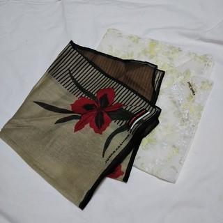 コシノジュンコ(JUNKO KOSHINO)のレディースハンカチ   2枚(ハンカチ)
