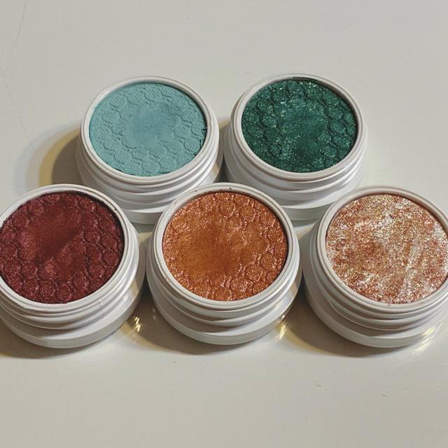 colourpop(カラーポップ)のCOLOURPOP(カラーポップ)アイシャドウ5個セット② コスメ/美容のベースメイク/化粧品(アイシャドウ)の商品写真