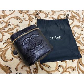 CHANEL - CHANEL◆キャビアスキン ◆バニティ  美品