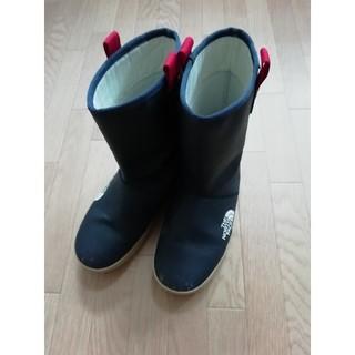 THE NORTH FACE - ザノースフェイス レインブーツ スノーブーツ 長靴 23cm ネイビー