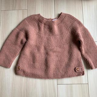 NEXT - zarababy ニット セーター くすみピンク 9-12M