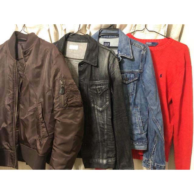 POLO RALPH LAUREN(ポロラルフローレン)の秋冬服セット ブランド まとめ売り 古着 メンズのジャケット/アウター(Gジャン/デニムジャケット)の商品写真