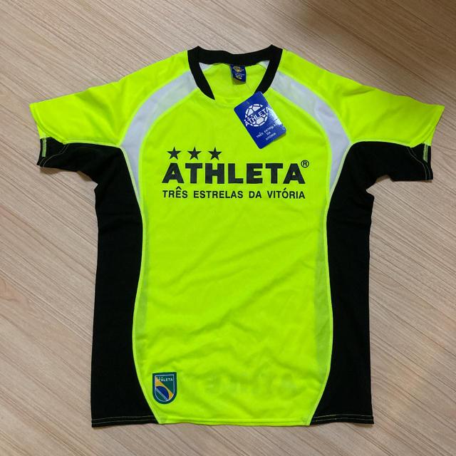 ATHLETA(アスレタ)の新品 ATHLETA アスレタ プラシャツ 半袖 Tシャツ スポーツ/アウトドアのサッカー/フットサル(ウェア)の商品写真